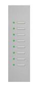 KNX Design Tableaus - Serie Trico  8 RGB