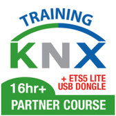 KNX 16hr+ Partner Course + FREE ETS5 Lite USB Dongle