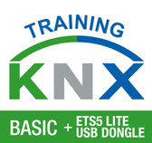 KNX Certification Basic Course + ETS5 Lite USB Dongle