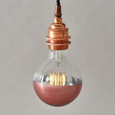 Theo LED Filament G95 Copper Crown