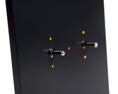 ANNA CARRE - 2 LEVERS (DOUBLE PUSH-BUTTON) KNX WITH LEDS INTEGRATED TEMP & HUMIDITY SENSOR