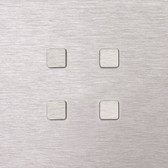 MONA CARRE - 4 PUSH-BUTTONS KNX NO LEDS