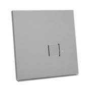 LOLA CARRE - 1 PUSH-BUTTON KNX WITH LEDS INTEGRATED TEMP & HUMIDITY SENSOR