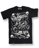 Awesome punk rock rider tee. Huge load of tattoo inspiration!