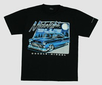 Moonlight blue hotrod t-shirt