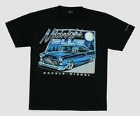 Moonlight blue hotrod t-shirt