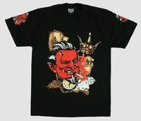 Devil cards hotrod t-shirt