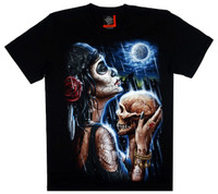 Front - Skull moon man rock eagle