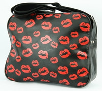 Lips squared bag Bag