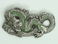 Dragon green small buckle