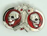Handcuffs skull small buckle