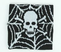 Spiderweb black sweat band accessory