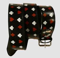 Poker S black mix belt