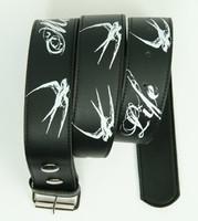 Marked for life black-white mix belt
