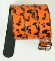 Lady orange mix belt