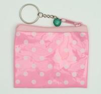 Dot pink coin bag Bag