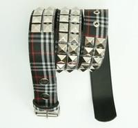 Scotch black belt studs belt