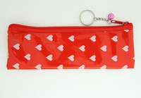 Heart red pencil bag Bag
