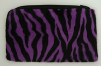 Zebra Purple Pencil bag Bag