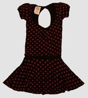 OIB 3D star black-red fashion dress