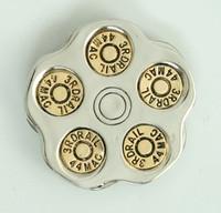 Bullet round big buckle
