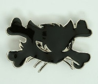 Cat bone black medium buckle