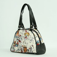 Skelet cream small bowling bag