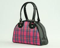 Scotch Pink small bowling bag