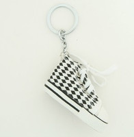Shoe check mix key ring