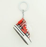 Shoe scotch red mix key ring