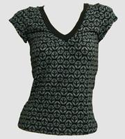 Front - Grafic grey fashion t-shirt