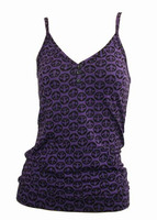 Front - Grafic purple top pocket top