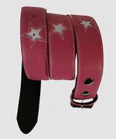Star pink-white stars belt