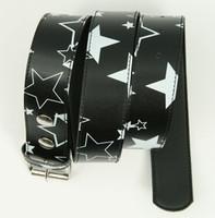 Stars black-white stars belt