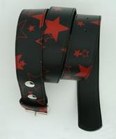 Stars black-red stars belt