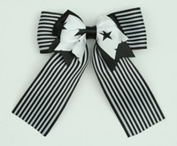 Star double hair clips piece