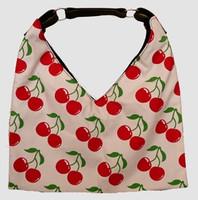Cherry white V bag Bag