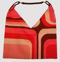 Squared pink V bag Bag