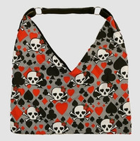 Skull new grey V bag Bag