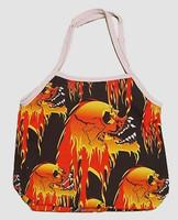 Skull fire hand bag Bag