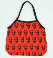 Hanya red-black hand bag Bag
