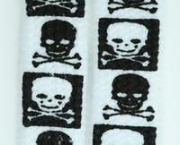 Skull squared white skull B&W skull