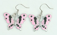 Butterfly pink animal pendant