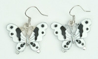 Butterfly white animal pendant