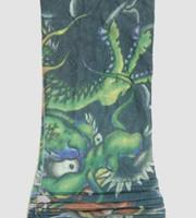Dragon green fake tattoo sleeves accessory