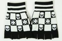 Skull hero white gloves accessory