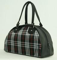 Scotch black medium bowling bag