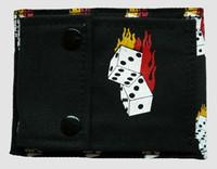 Dice fire wallet standard wallet