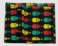 Skulls color wallet standard wallet