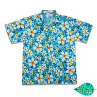 Foam blue hawaii shirt